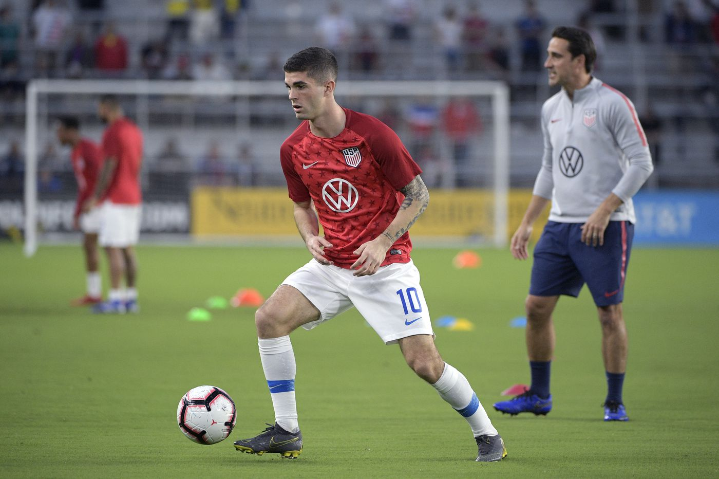 outlet store 87248 ed5d9 Christian Pulisic leads USMNT Gold Cup provisional roster ...