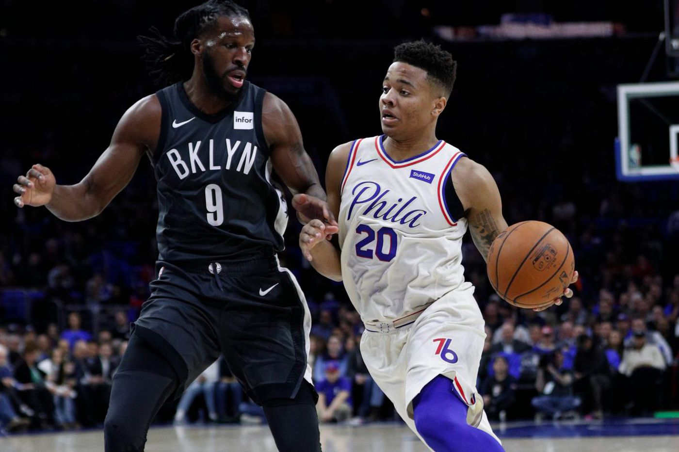 Another positive step in Markelle Fultz's audition for the playoff rotation   David Murphy