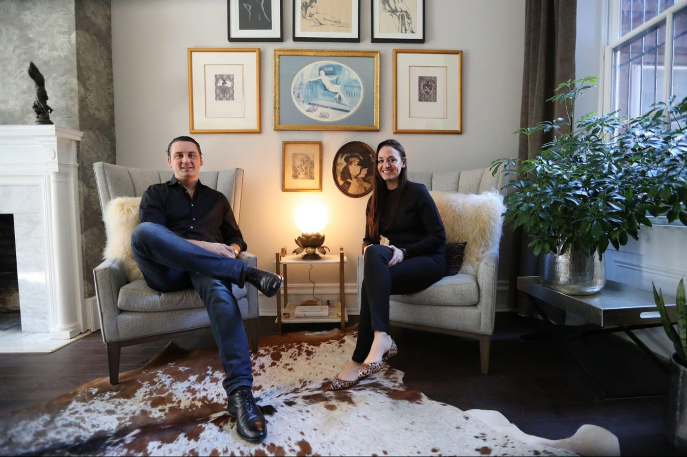 How a job prospect led to a home near Rittenhouse Square