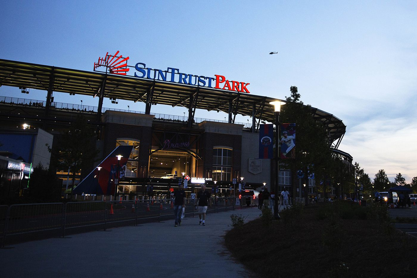 Braves game goes on as scheduled after dead body found in beer cooler