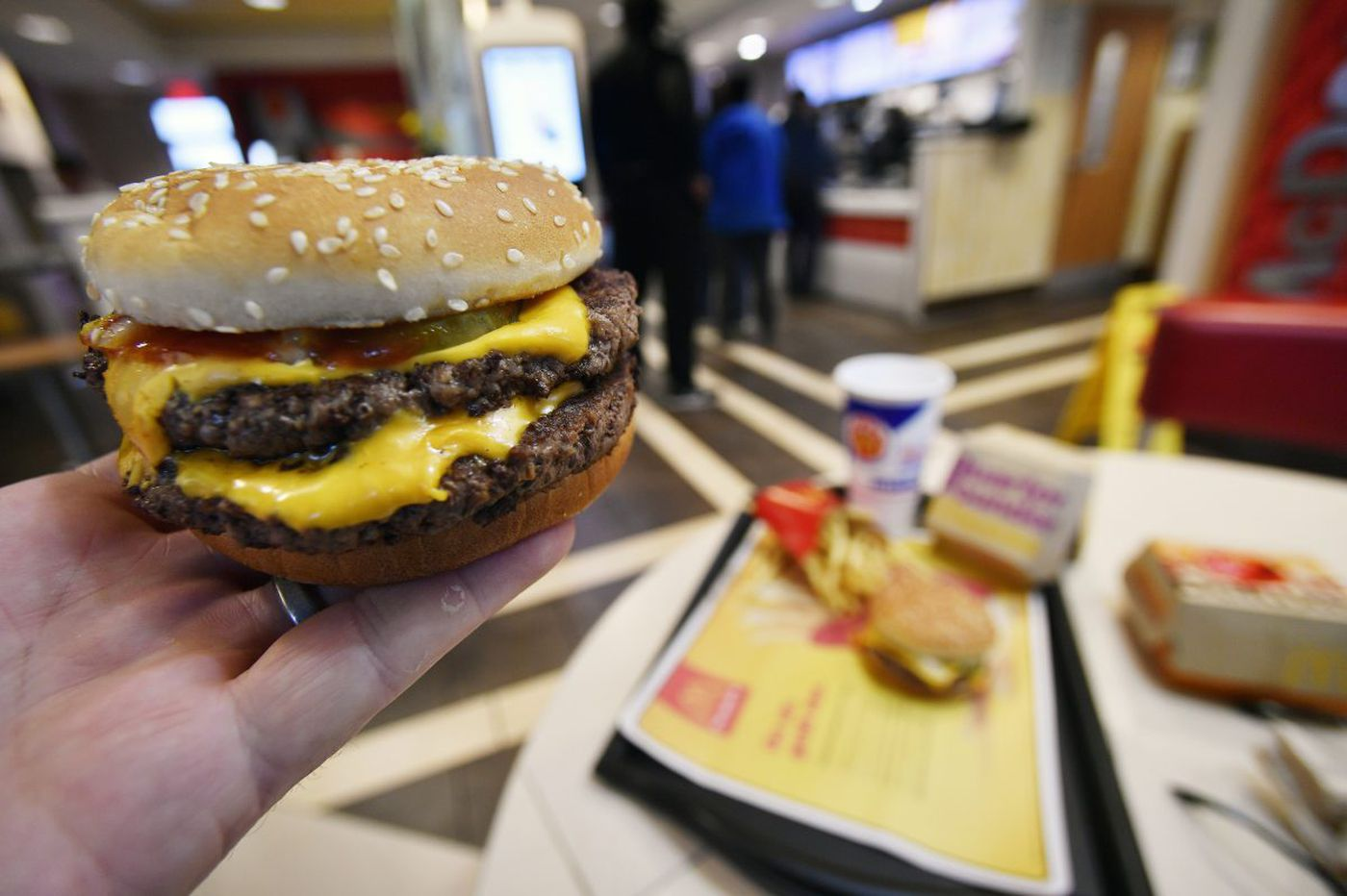 McDonald's to roll out fresh beef burgers nationwide this spring