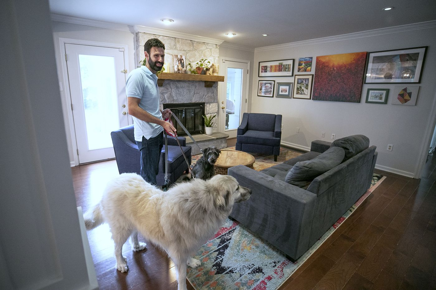 This couple are customizing their house in Wynnewood, one project at a time