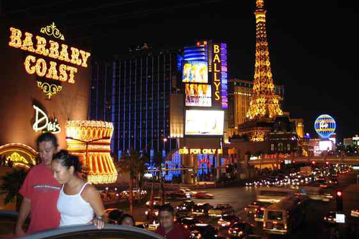 Vegas on losing end of rough economy
