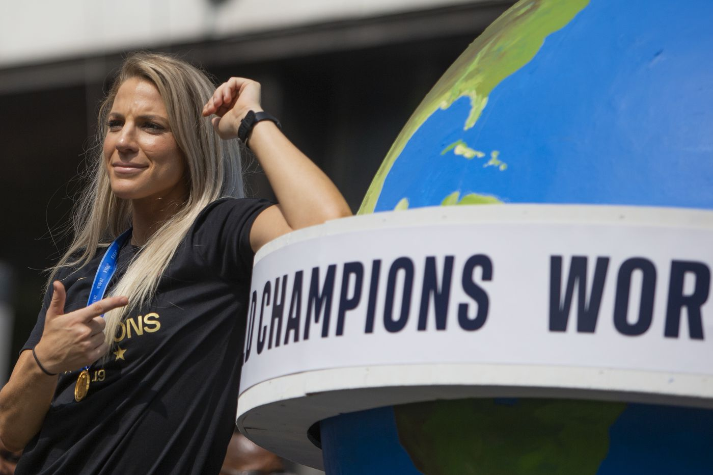 After World Cup title win, Julie Ertz returns to NWSL's Chicago Red Stars and publishes a children's book