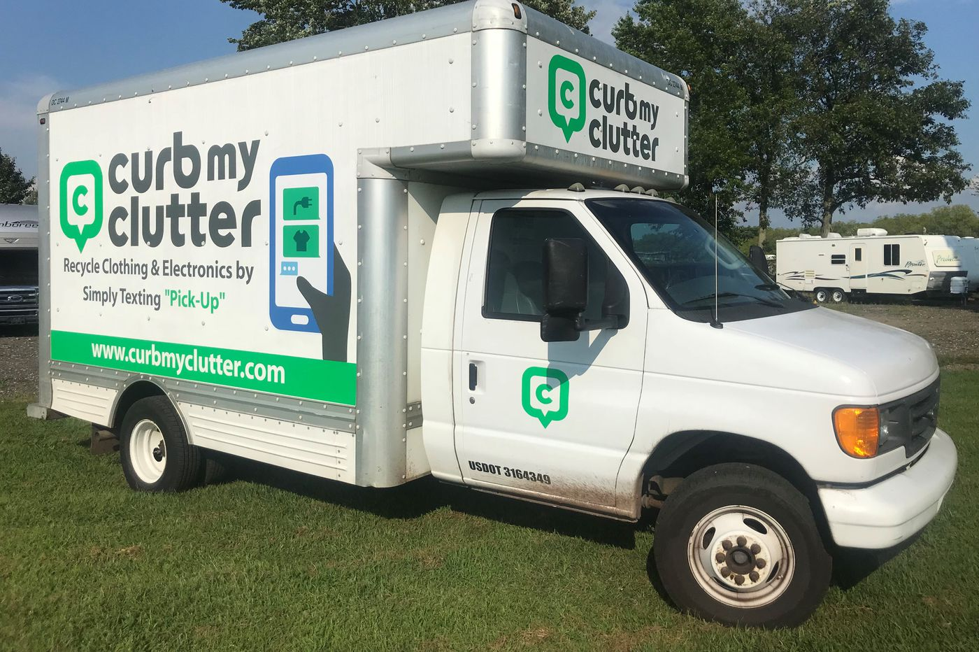 Text 'Pick-Up': Towns are partnering with an app to recycle residents' electronics and clothes