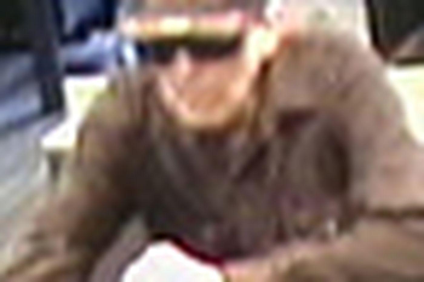 Elderly man sought in bank heist