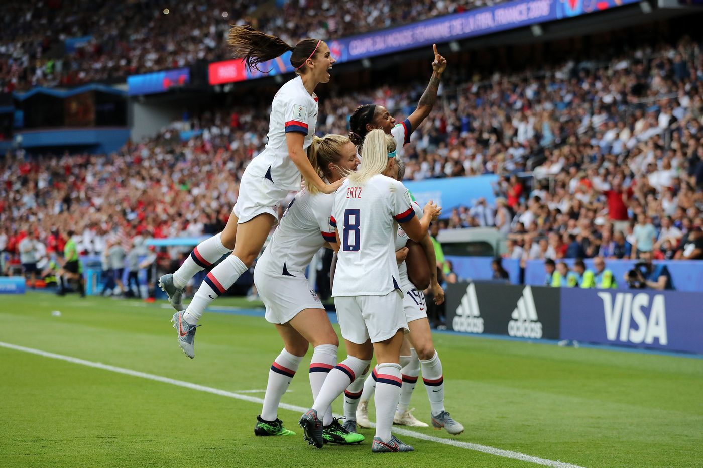 Where to watch the Women's World Cup final, even if you're down the Shore