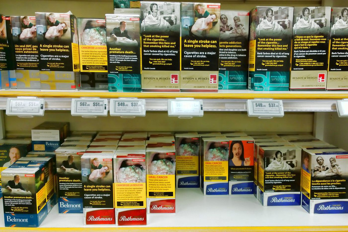 To get smokers to quit, cigarette warning labels with diseased body parts are most effective, Penn study finds