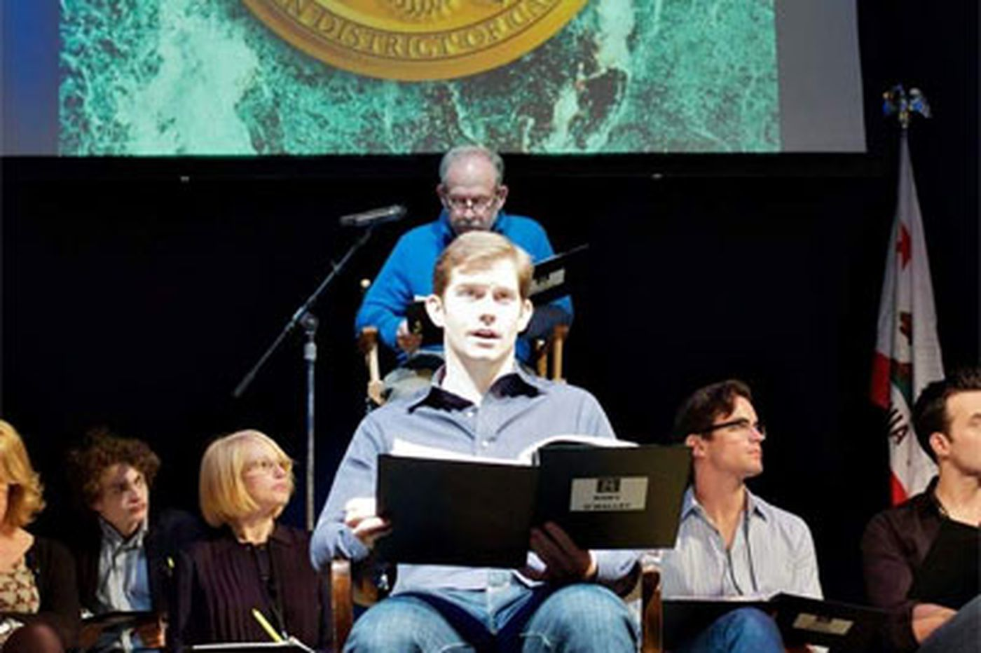 Acting for a cause: Play reading opposes Calif. amendment banning same-sex marriage