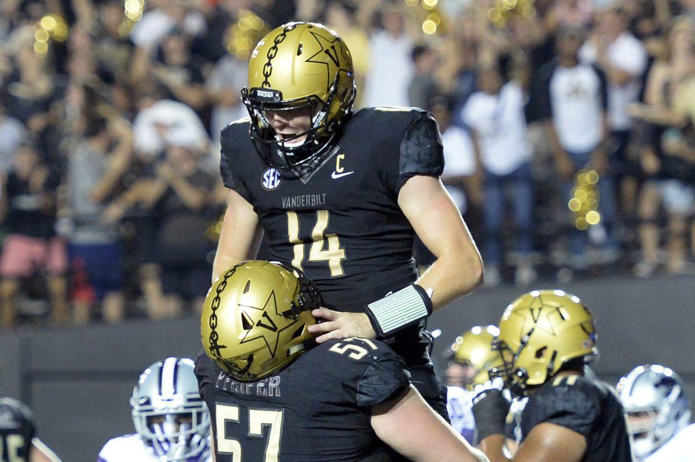 College football watch: Vanderbilt seeking upset of No. 1 Alabama