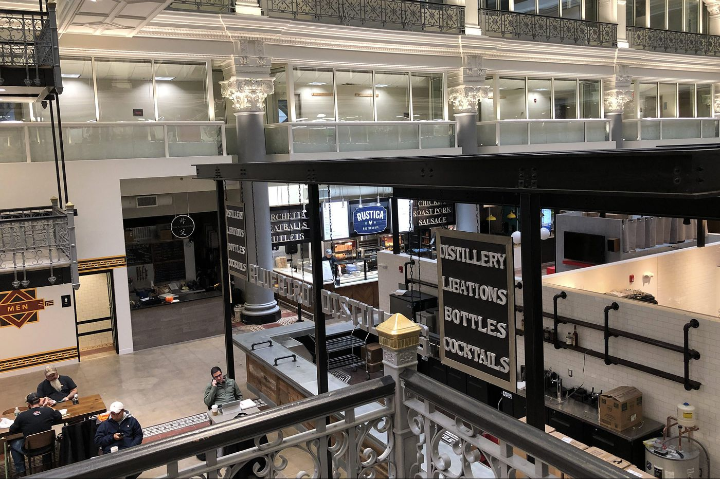 Bourse Food Hall opens, mostly   Let's Eat
