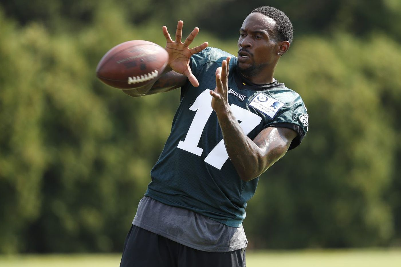 Eagles WR Alshon Jeffery sidelined for second consecutive practice