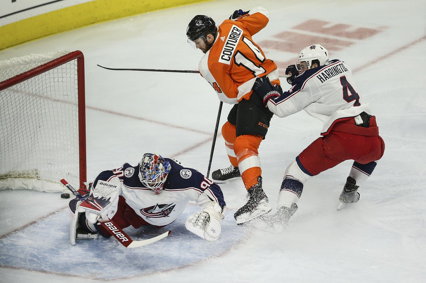 Observations: Claude Giroux set a record, Phil Myers ended a drought and the Flyers hammered the Blue Jackets