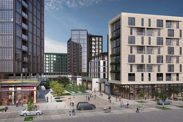 Developer Bart Blatstein slashes apartment count at planned sequel to Piazza in Northern Liberties