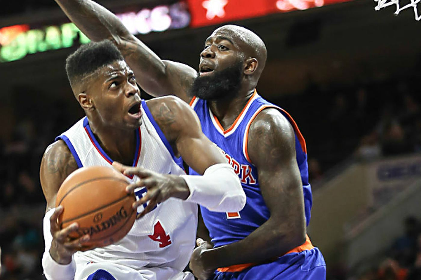 Noel posts double-double as Sixers beat lowly Knicks