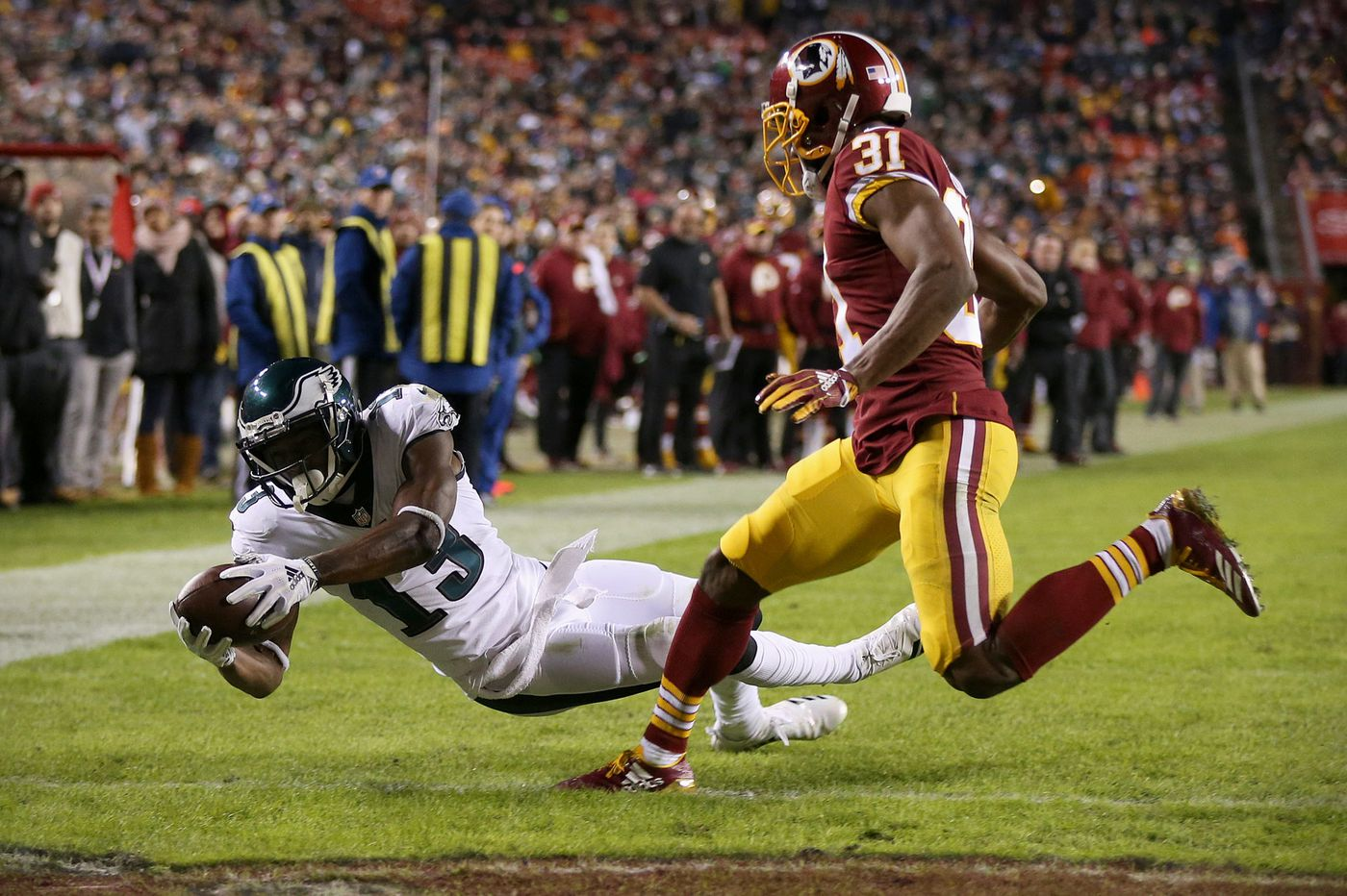 nelson agholor was the not so unsung hero for eagles in win over