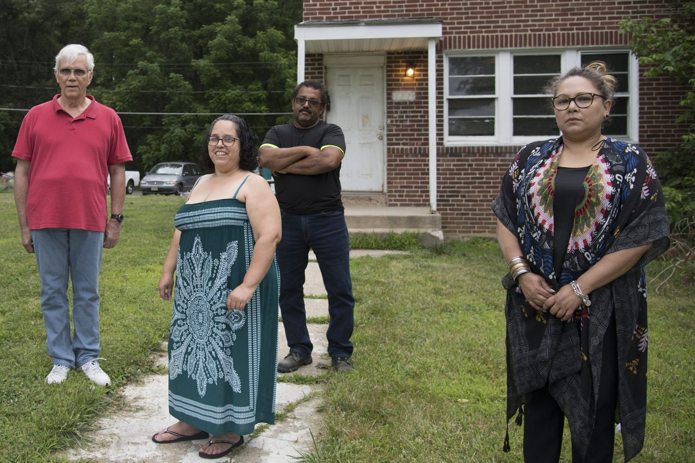 Nine new houses sit empty in Mount Holly. Here's why