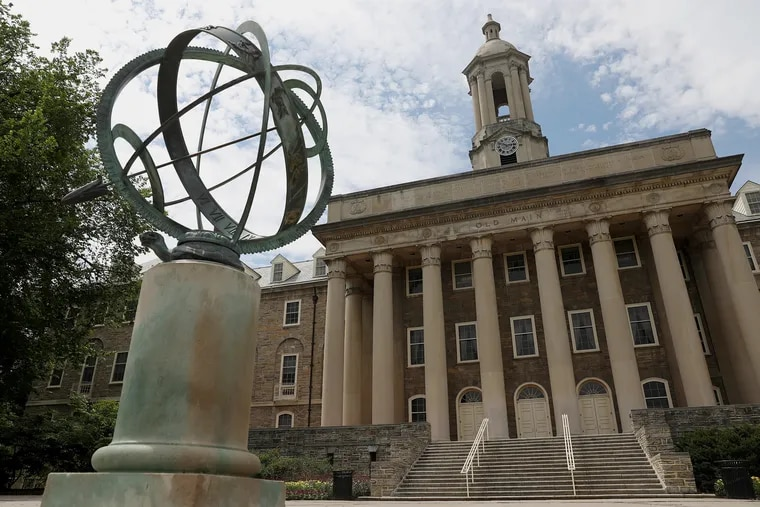 Old Main is pictured on the Penn State University campus in State College.