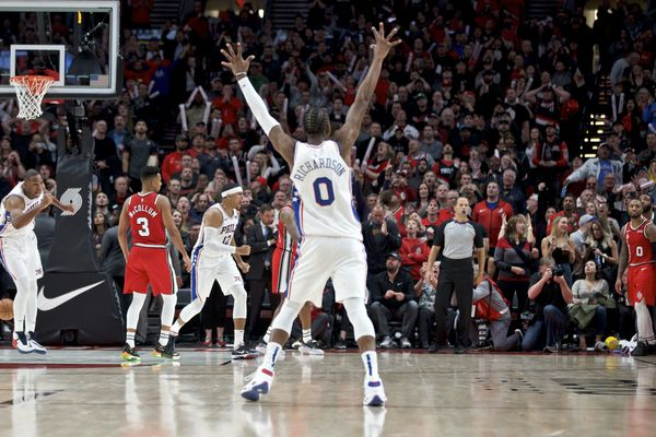 Furkan Korkmaz's clutch three-pointer lifts Sixers to 129-128 victory over Trail Blazers