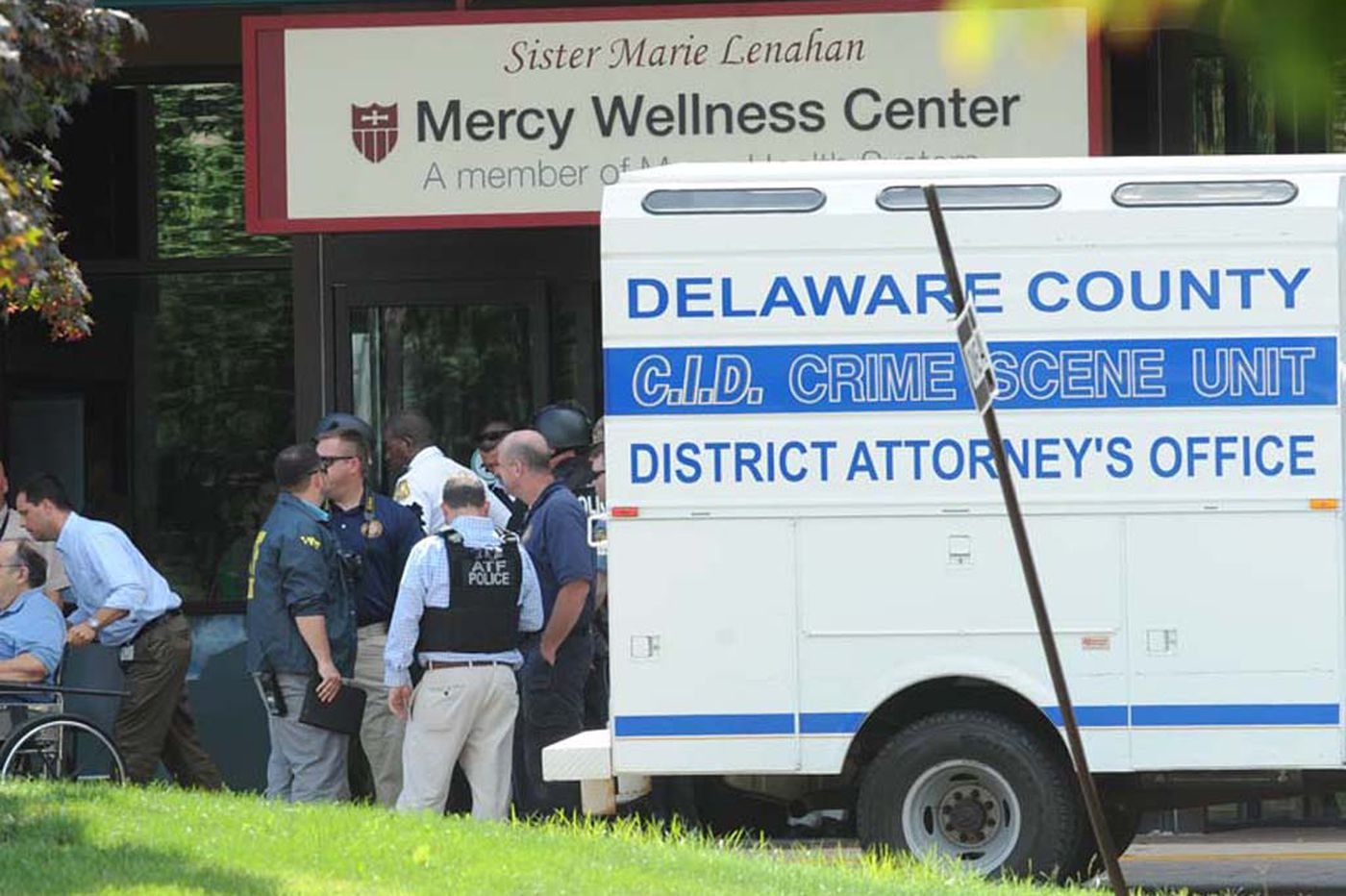 More might have died if doctor had not shot gunman