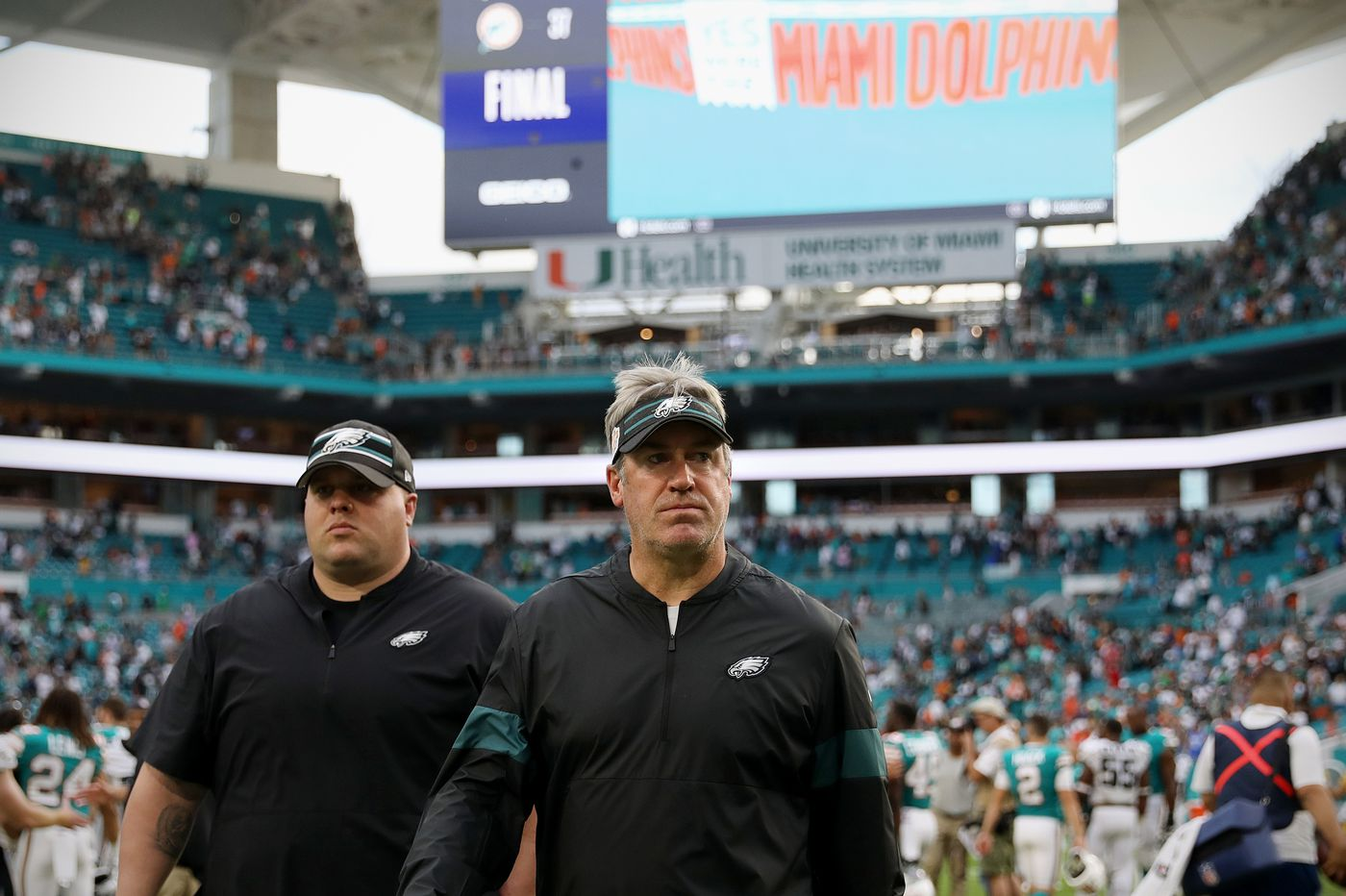 Dolphins 37, Eagles 31: Birds defense destroyed, and team's illusions about itself might be next
