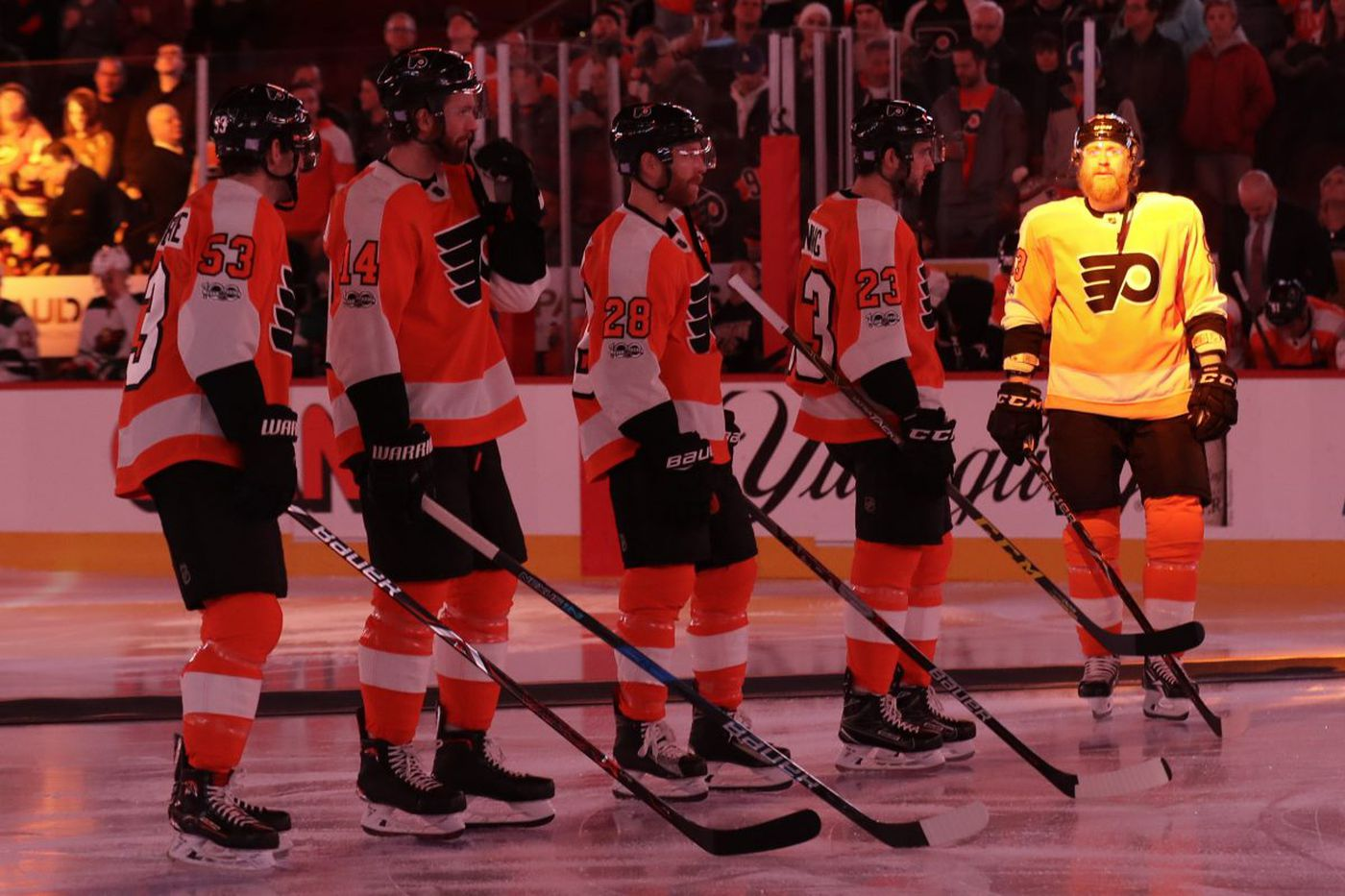 Sports Tonight: Flyers need goals from more than usual suspects