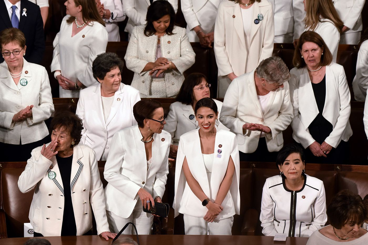 State of the Union's white-wearing congresswomen reminded me of the church-going black women in my family | Elizabeth Wellington