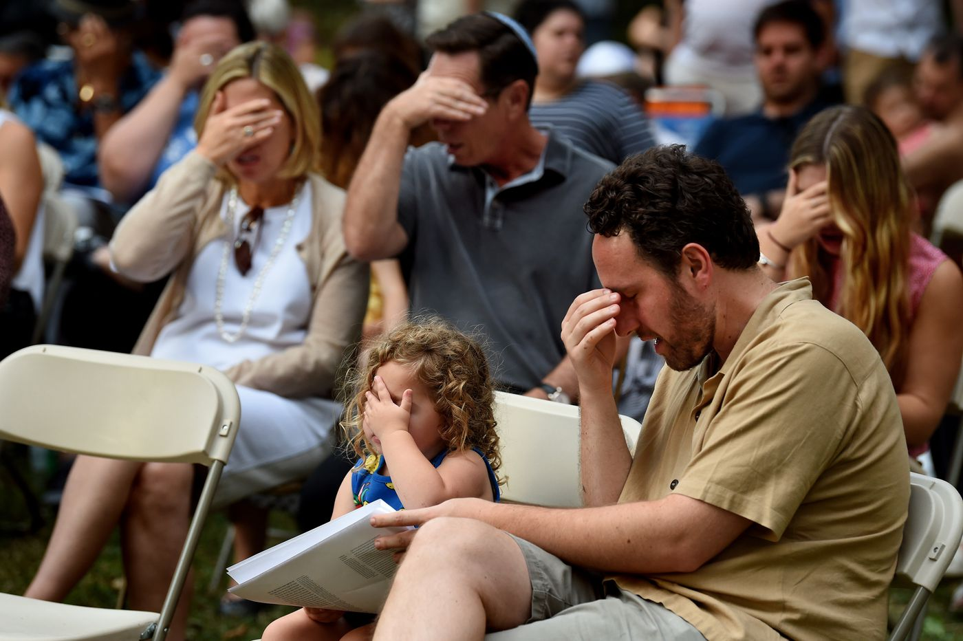 A Service in the Square: Celebration marks Rosh Hashanah in Rittenhouse