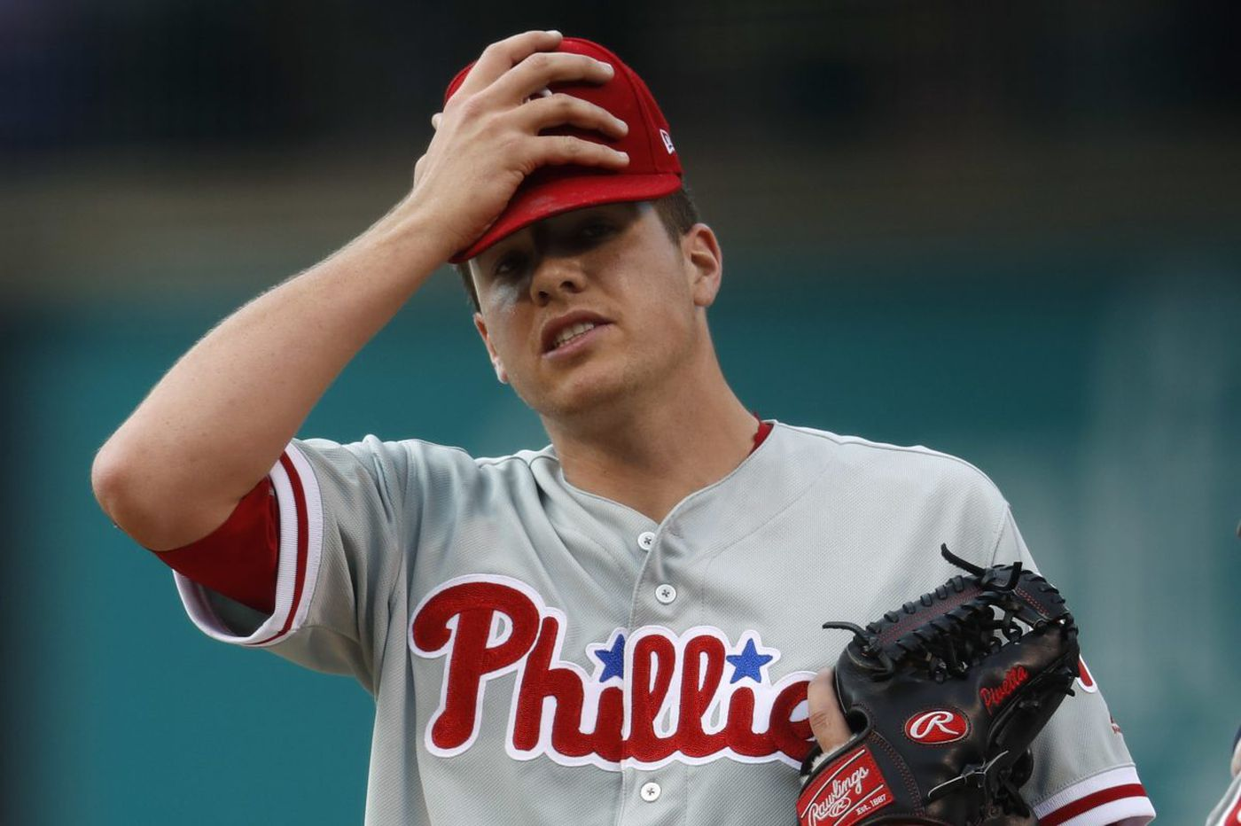 In loss to Rockies, Phillies focus on Leiter's good instead of Pivetta's bad