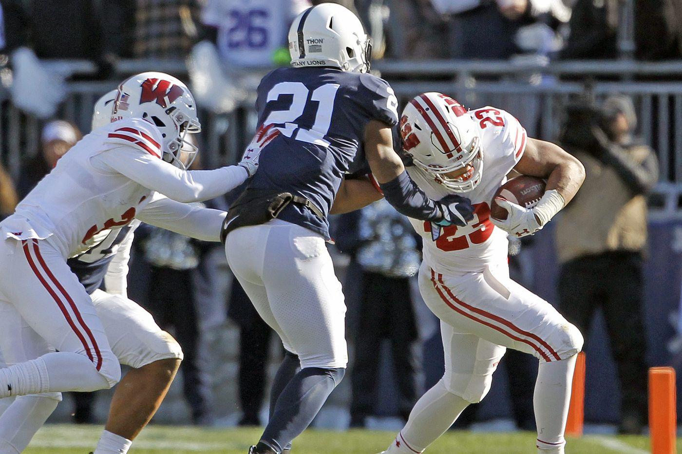 Penn State beats Wisconsin, despite Salem grad Jonathan Taylor's strong showing
