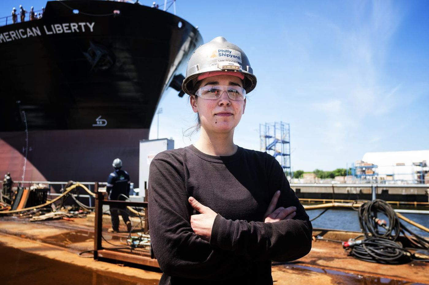 Shipbuilders-in-training in South Philly