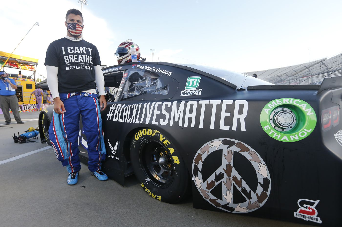 Sports chatter: Bubba Wallace takes the lead on NASCAR outlawing confederate flag display at its races