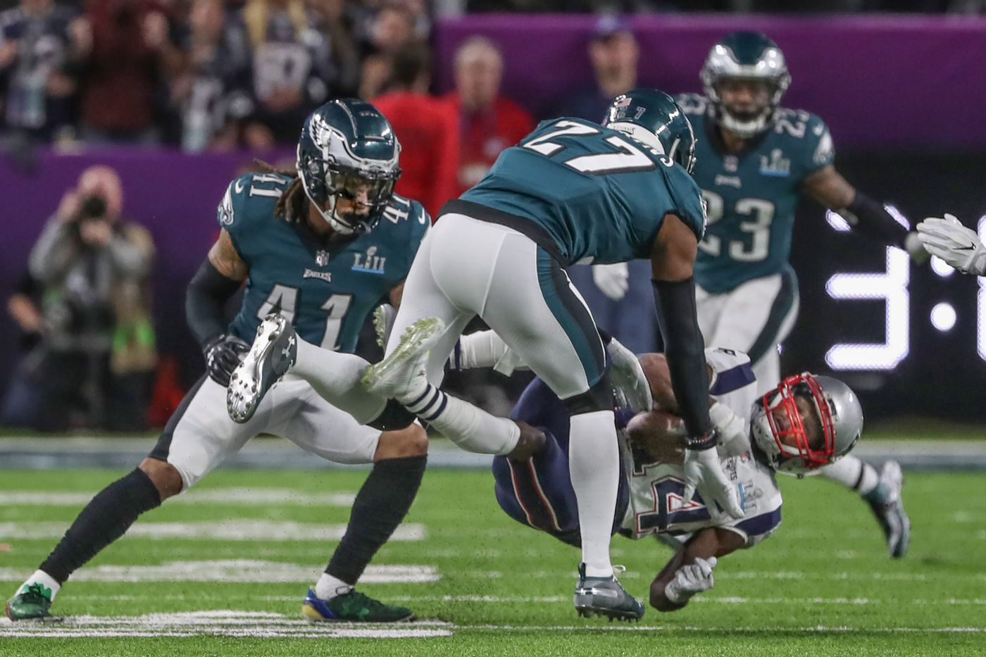 Legal or illegal? Malcolm Jenkins' Super Bowl hit exemplifies confusion over new rule | David Murphy