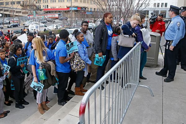 Plan for 3 more charters draws protests, counterprotests