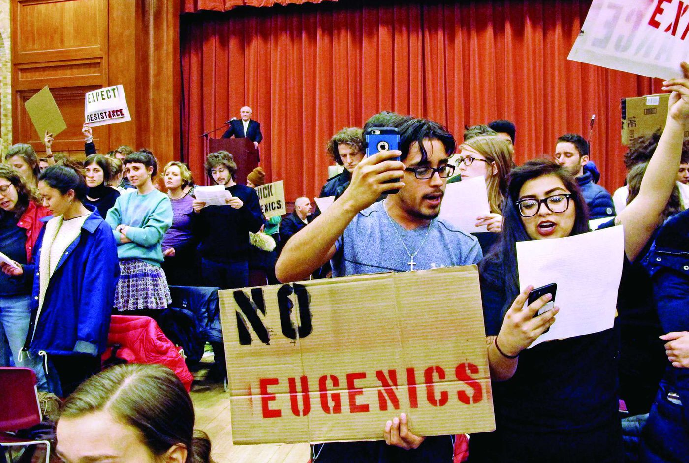 Commentary: At Middlebury, protesters assault free speech and the politics that bind us