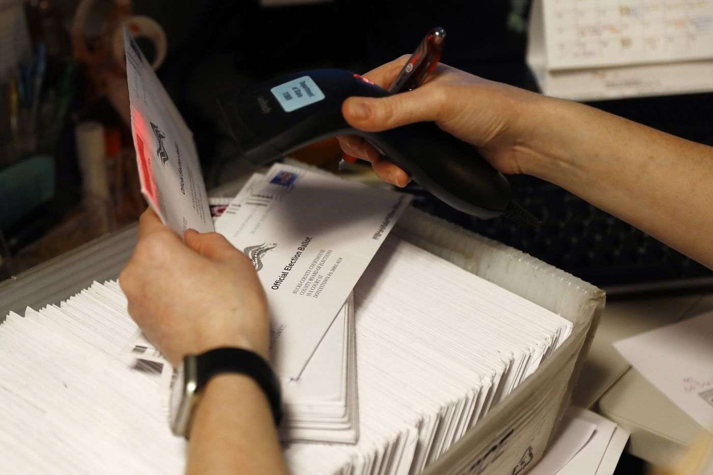 Courts extend Pa. mail ballot deadlines in Bucks and Delaware Counties