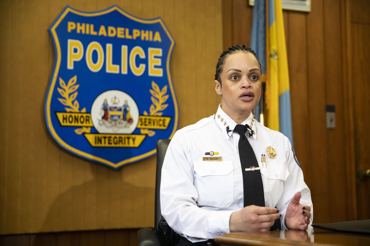 Philly Police Commissioner Danielle Outlaw says police will investigate death of man in department custody