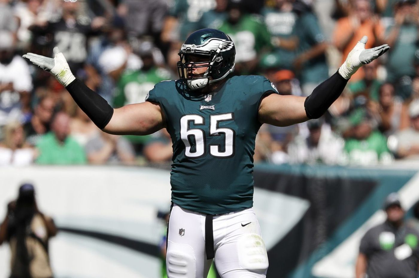 Why Lane Johnson vs. Steven Means is an important Eagles practice matchup | Early Birds
