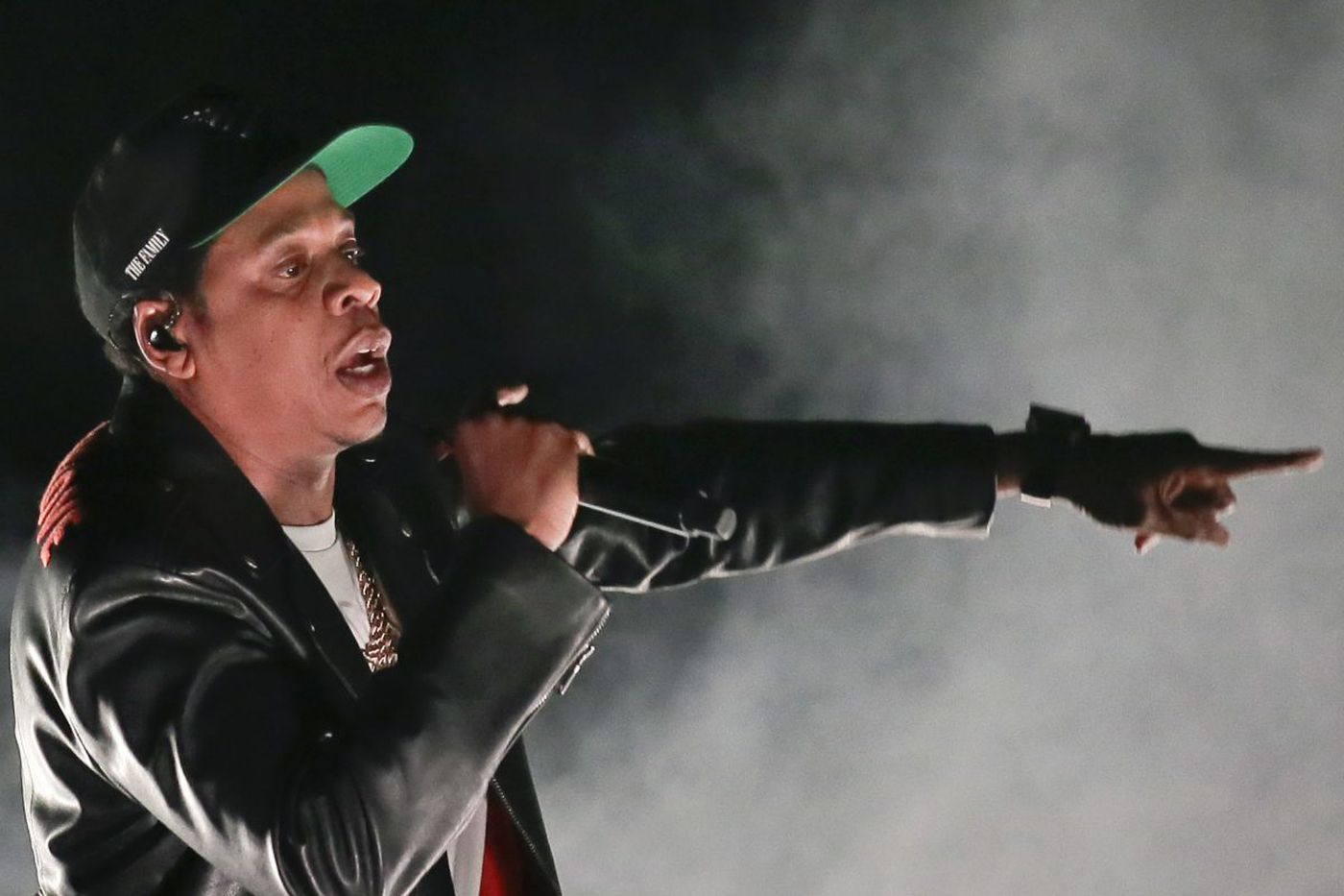 Jay-Z (and Joel Embiid) speak up for Meek Mill at Wells Fargo Center