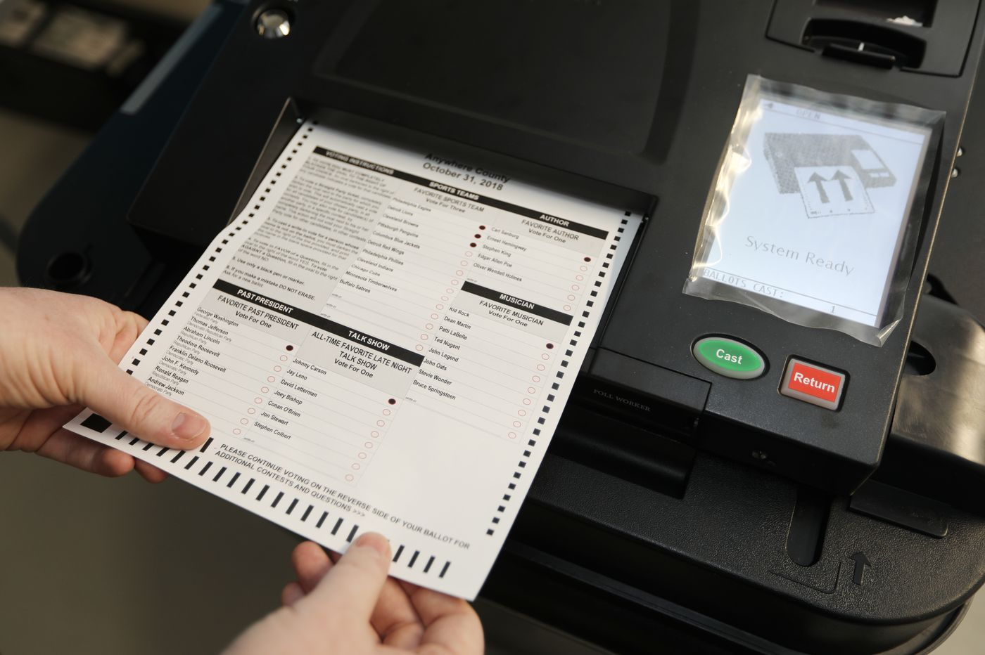 New voting security measures could disenfranchise voters with disabilities | Opinion
