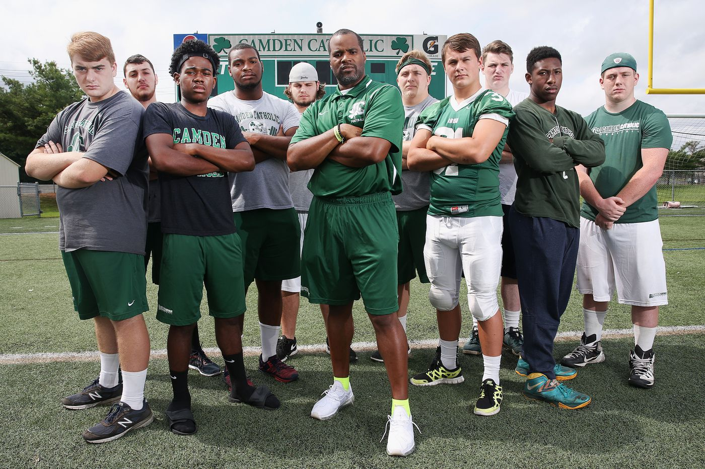 Surviving seniors keep the football faith at Camden Catholic