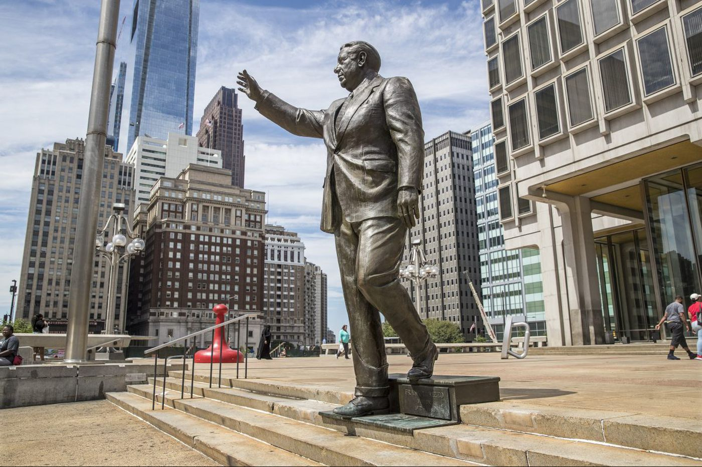 'Dress up the statue in drag' and other Rizzo statue suggestions submitted to the city