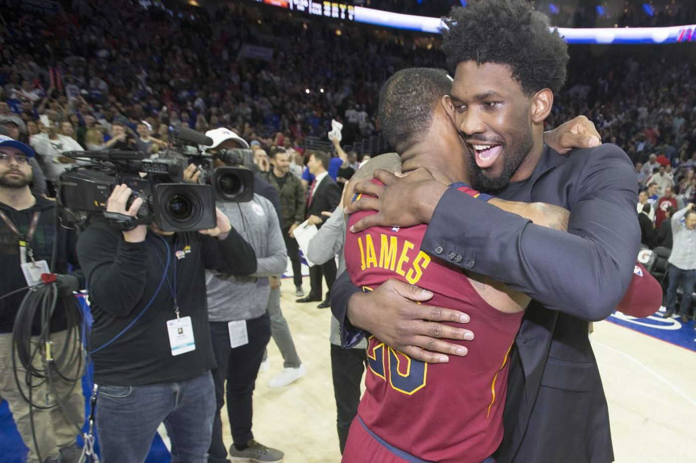 Joel Embiid says he's ready to help Sixers recruit top free agents this offseason