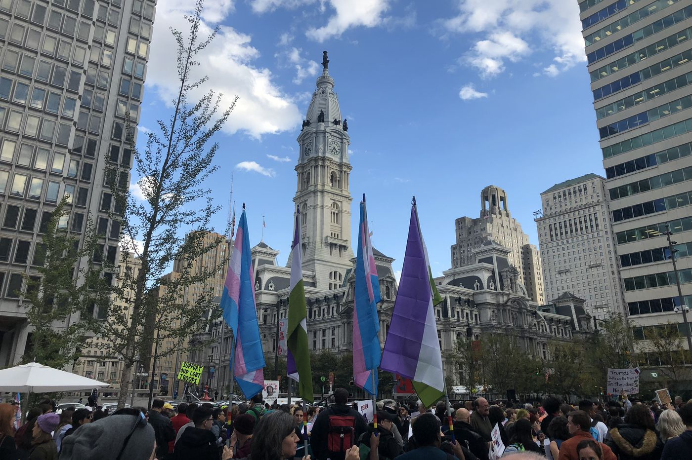 Why I rallied: 6 stories from Philly's Rally for Trans Existence | Perspective