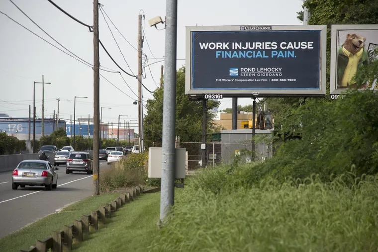 Partners at law firm Pond Lehocky, whose billboards can be  seen throughout the  Philadelphia area, want to get rid of their mail-order pharmacy.