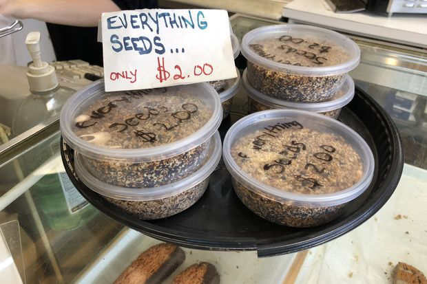 Everything bagel spice goes local