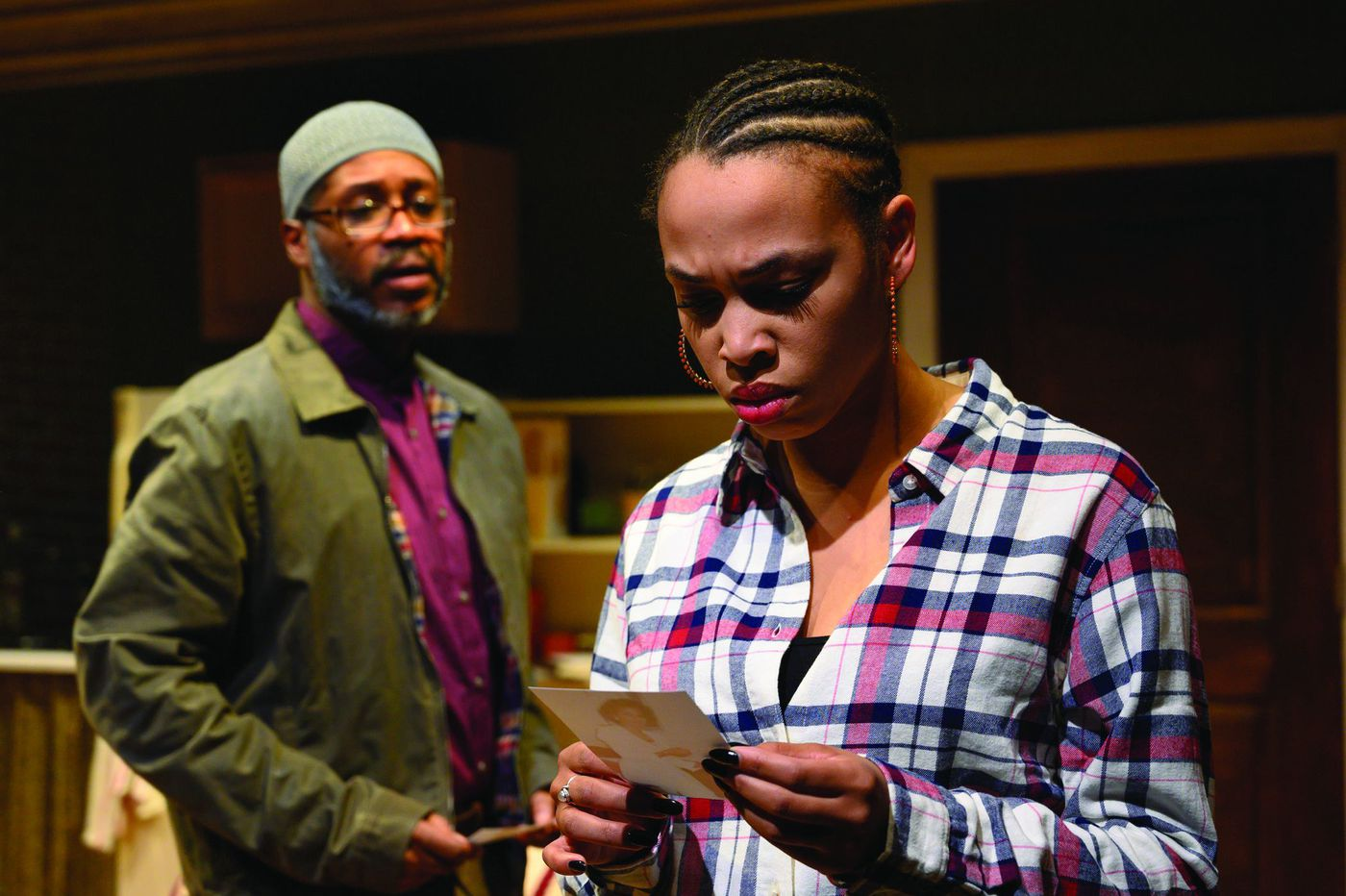 'Sunset Baby' at Azuka: A talent trove of acting in Dominique Morisseau's small gem