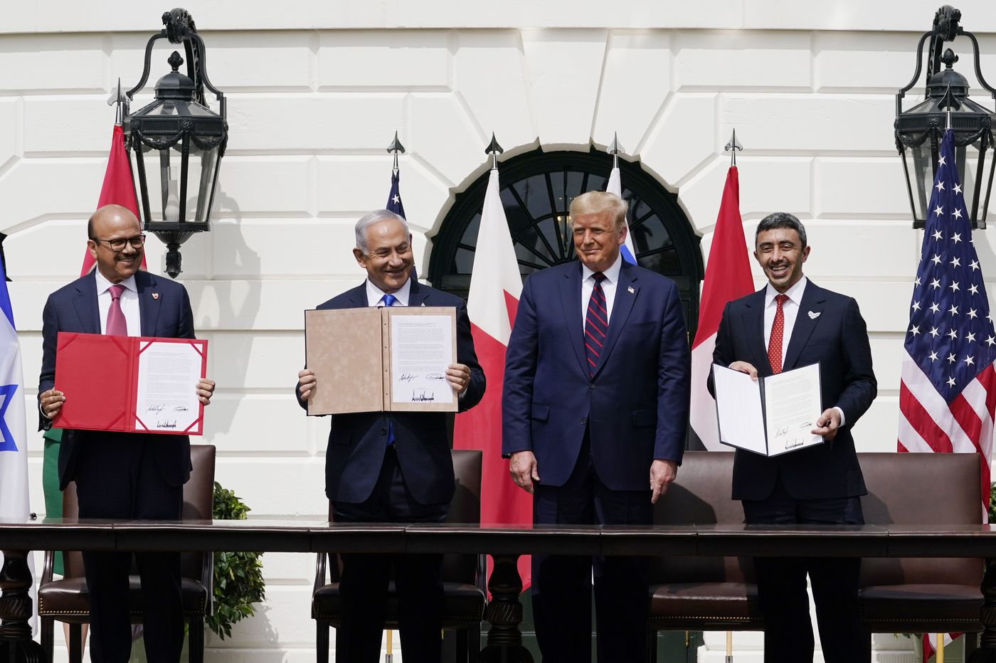 "President Trump Signs ""Abraham Accords"" Establishing Full Diplomatic Relations Between USA, UAE, Bahrain and Israel"