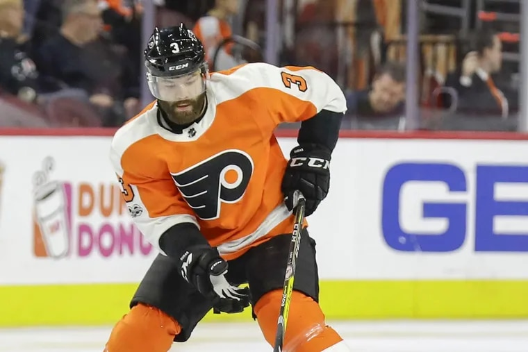 Flyers defenseman Radko Gudas.