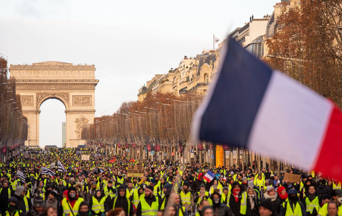French 'yellow vest' protesters demand something no Western leader grasps | Trudy Rubin